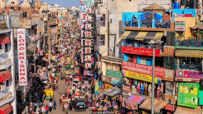 Delhi is one of the most multicultural cities in the world