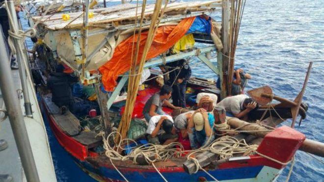 Tranh chấp đánh bắt cá tại Biển Đông thường xảy ra.