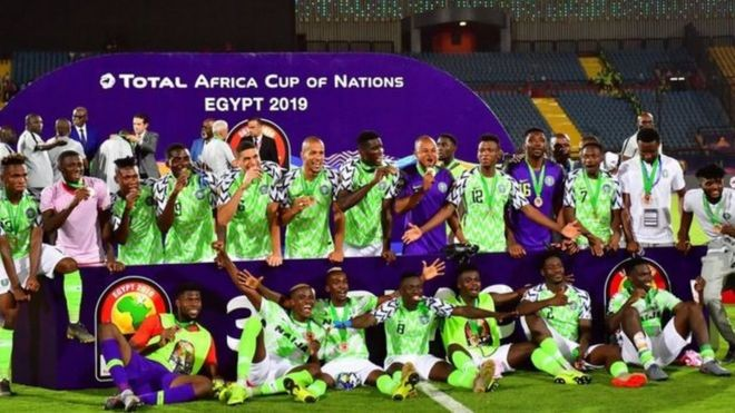 Image result for Nigeria vs Tunisia afcon 2019 images image