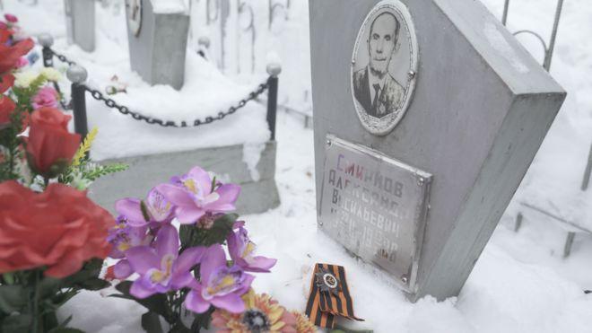 La tumba del soldado Smirnov.