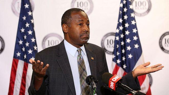 Ben Carson, Bộ trưởng bộ Gia cư Mỹ