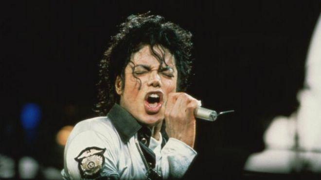 Michael Jackson em show de 1988