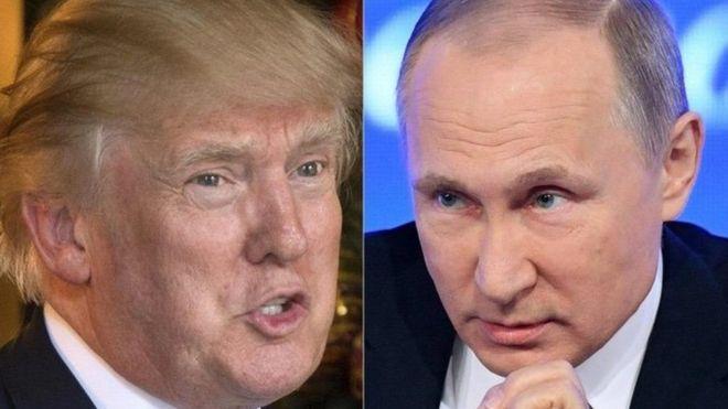 Trump y Putin