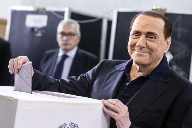 Silvio Berlusconi votazioni
