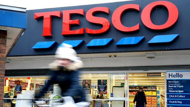 Tesco and Carrefour say 'strategic alliance' will cut prices | BBC News
