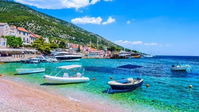 Playa de Croacia