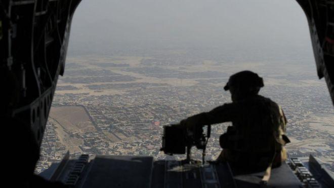 Американский военный в Афганистане