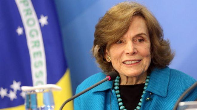 Sylvia Earle em visita ao Brasil