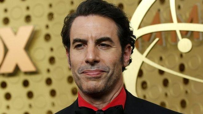 Sacha Baron Cohen in Los Angeles, California, on September 22, 2019