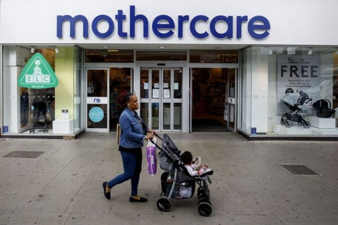 10f540df17e1 Mothercare woes deepen as sales slide - BBC News