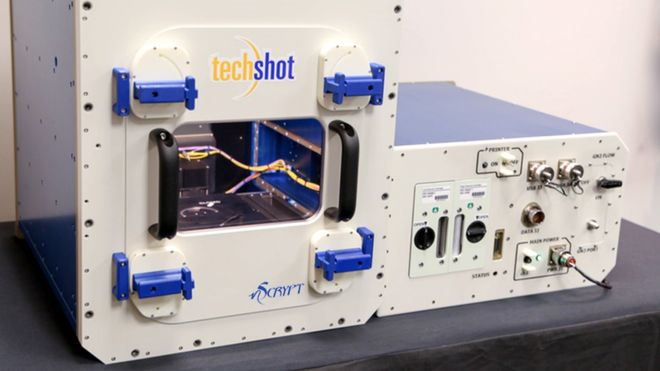 Techshot's BioFabrication Facility