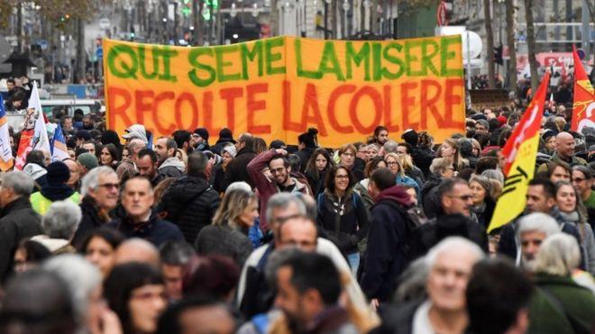 Картинки по запросу франция пенсионная реформа