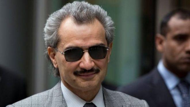 الوليد بن طلال يستحوذ على 2.3 في المئة من