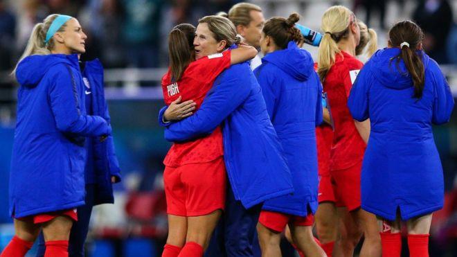 جام جهانی زنان؛ رکوردشکنی آمریکا پیش چشمان گریان سرمربیاش