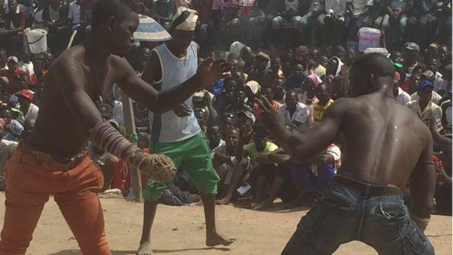 Wasannin Damben Dei Dei An Tashi Canjaras Bbc News Hausa