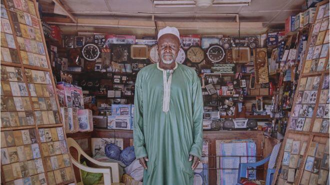 Un vendeur sénégalais