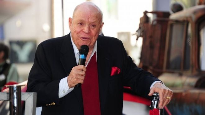 Don Rickles, an American comedian, is seen in this undated photo.