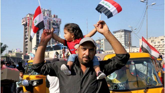 مظاهرات العراق: السيستاني يندد باستخدام العنف ضد المحتجين ويحذر من أي تدخل خارجي
