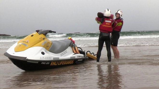 cf333640502 Summer lifeguard patrols on 11 Northern Ireland beaches - BBC News