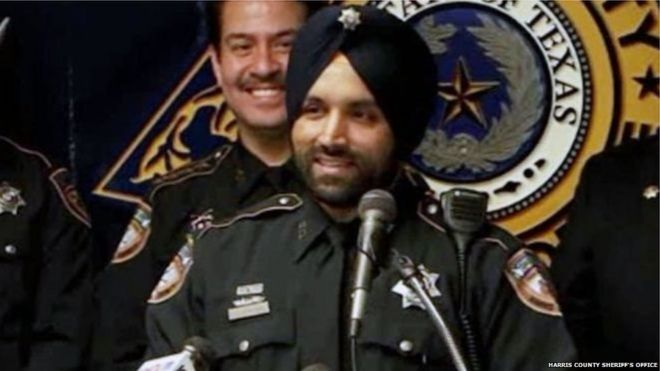 Indian native Sikh police officer paid tribute in Texas