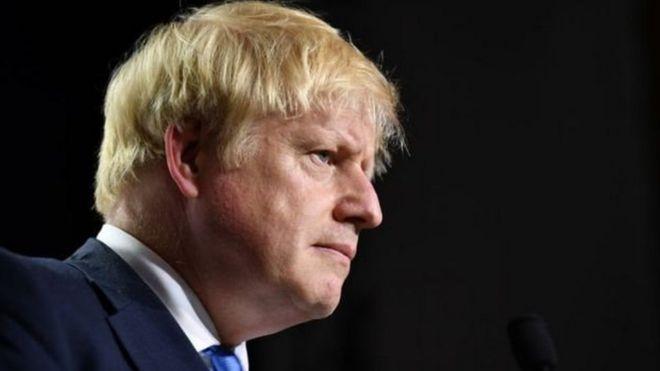 Boris Johnson 'aangukia pua' Bungeni Uingereza