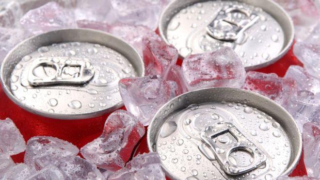 Latas de refrigerantes
