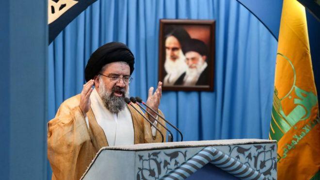 احمد خاتمی خواهان 'مدال دادن' به مجریان اعدامهای ۶۷ شد