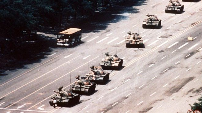 The Tiananmen Tank Man