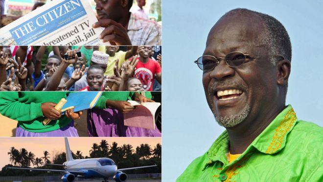 Five things Tanzania's President 'Bulldozer' Magufuli has banned