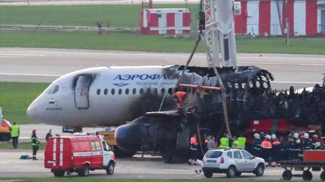 Aeroflot plane crash: Pilot error theory probed - BBC News