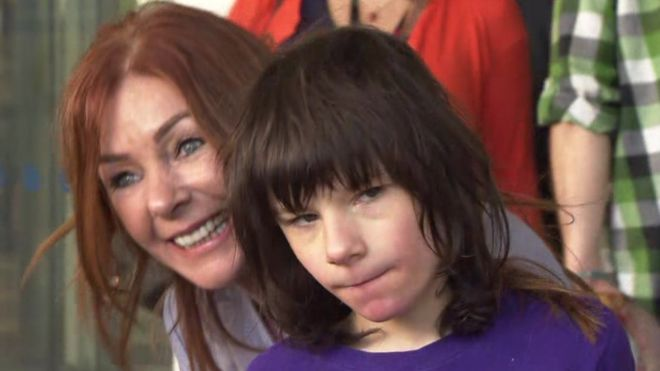 Charlotte and Billy Caldwell