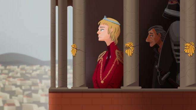 Ilustração de Cersei Lannister