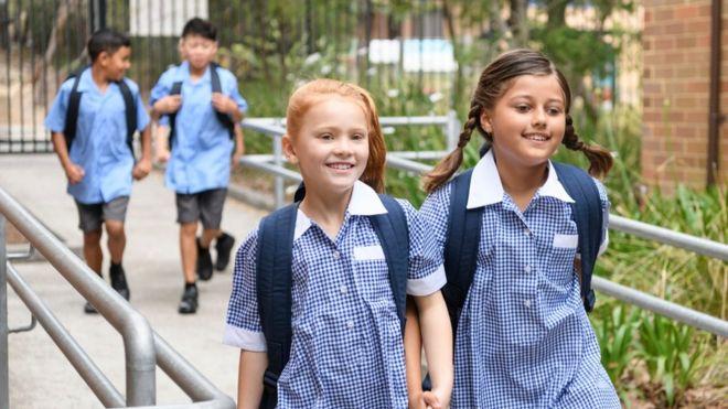 a77abf5960 School uniform 'should be gender neutral' in Wales - BBC News