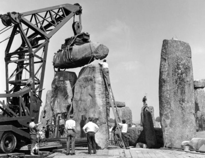 Missing part of Stonehenge returned 60 years on