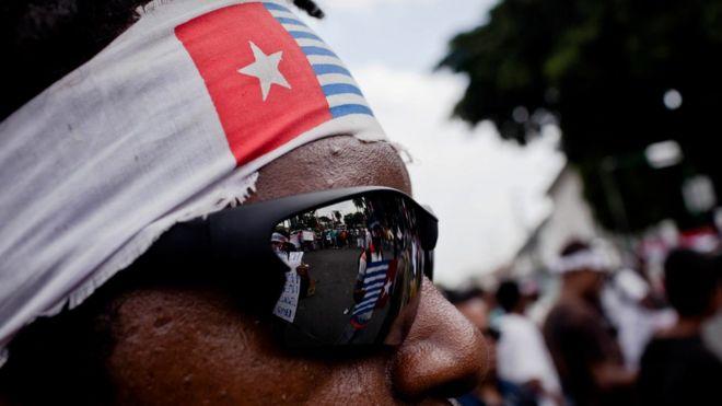 Organisasi Papua Merdeka yang menuntut pemisahan Papua dari