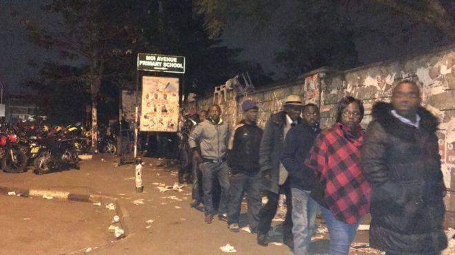 Elections kenya : ouverture des bureaux de vote bbc news afrique