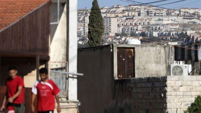 Warga Palestina di Nablus