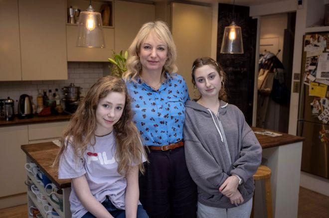 Laurel e suas filhas