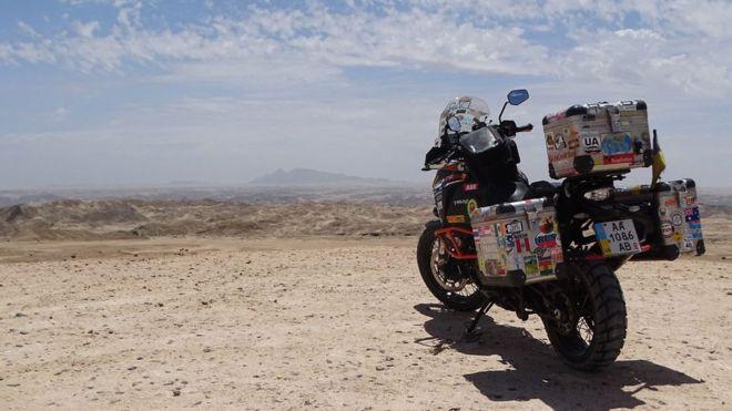 Місячна долина, Намібія