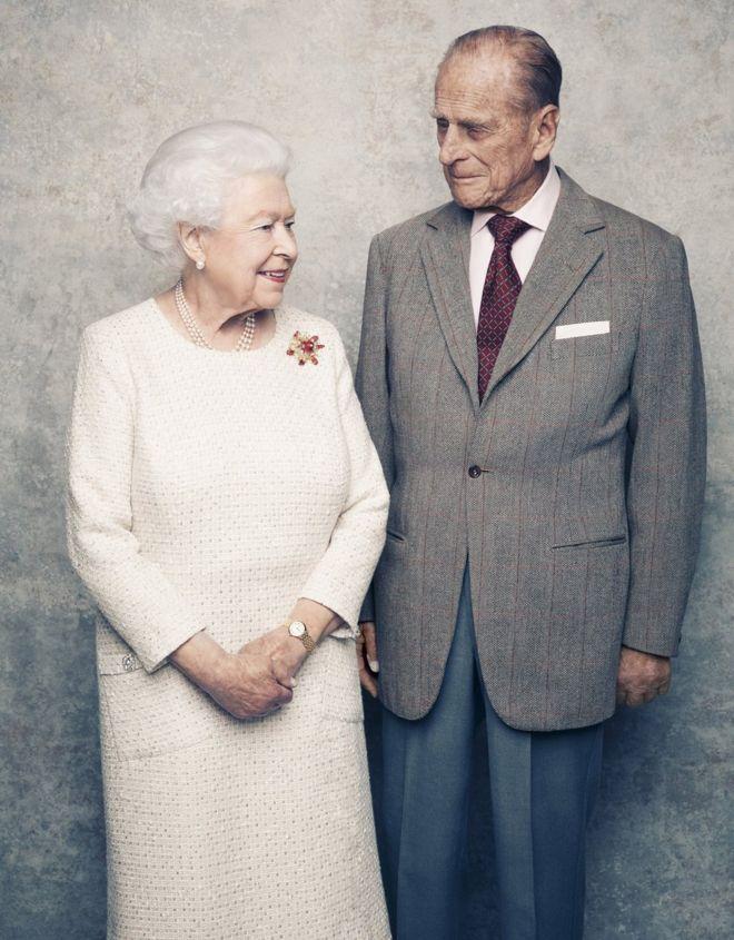 Королева и герцог Эдинбургский