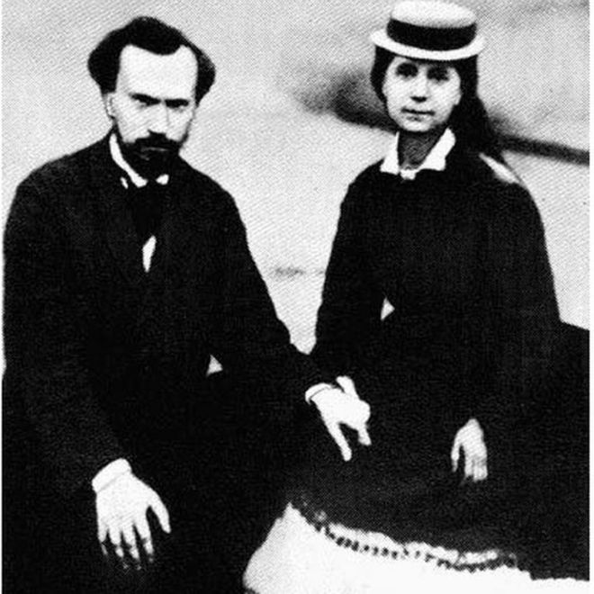 Paul Lafargue y Laura Marx