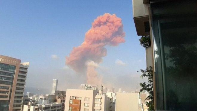 Blast in Beirut