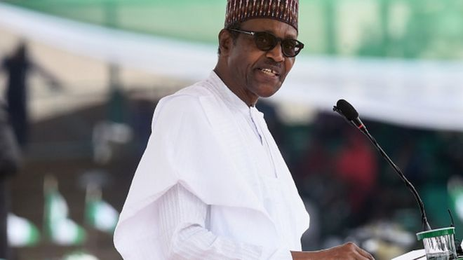 Za mu iya raba mutum miliyan 100 da talauci - Buhari - BBC News Hausa