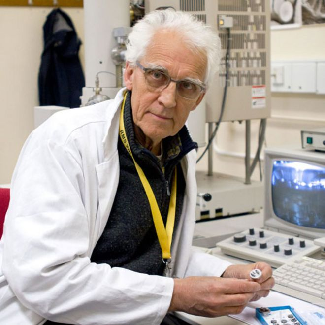 Rob Kesseler en el laboratorio