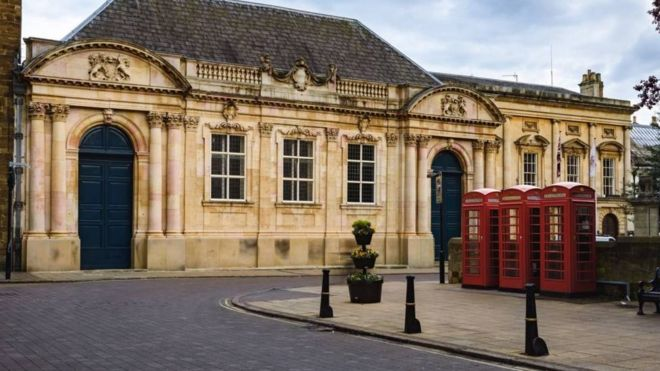 3889c6e40 Struggling Northamptonshire County Council bans spending - BBC News