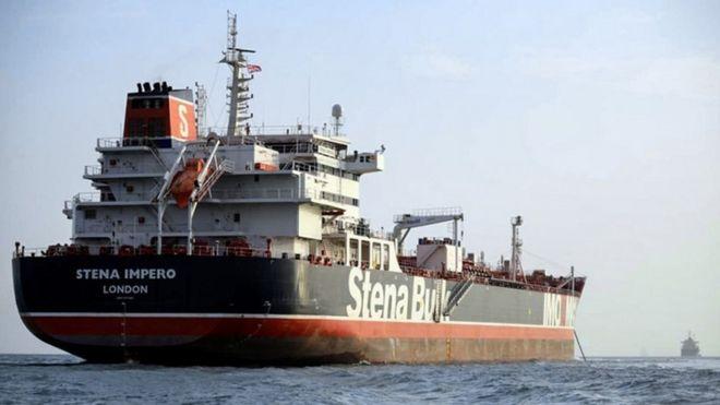 Tàu Stena Impero mang cờ Anh hiện vẫn đang bị Iran giữ