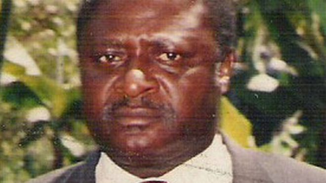 Bernard Muna - archive photo