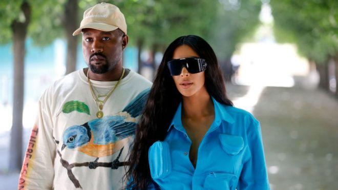 c2eec187a6 Kim Kardashian  Kanye West  upset  over my revealing selfies - BBC News