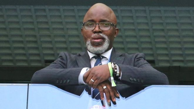 Image result for Pinnick takes over NFF again