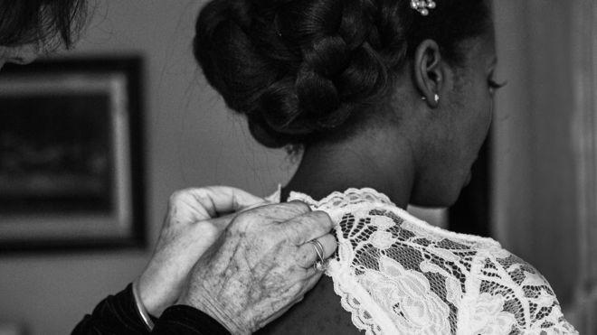 Jewel el día de su boda